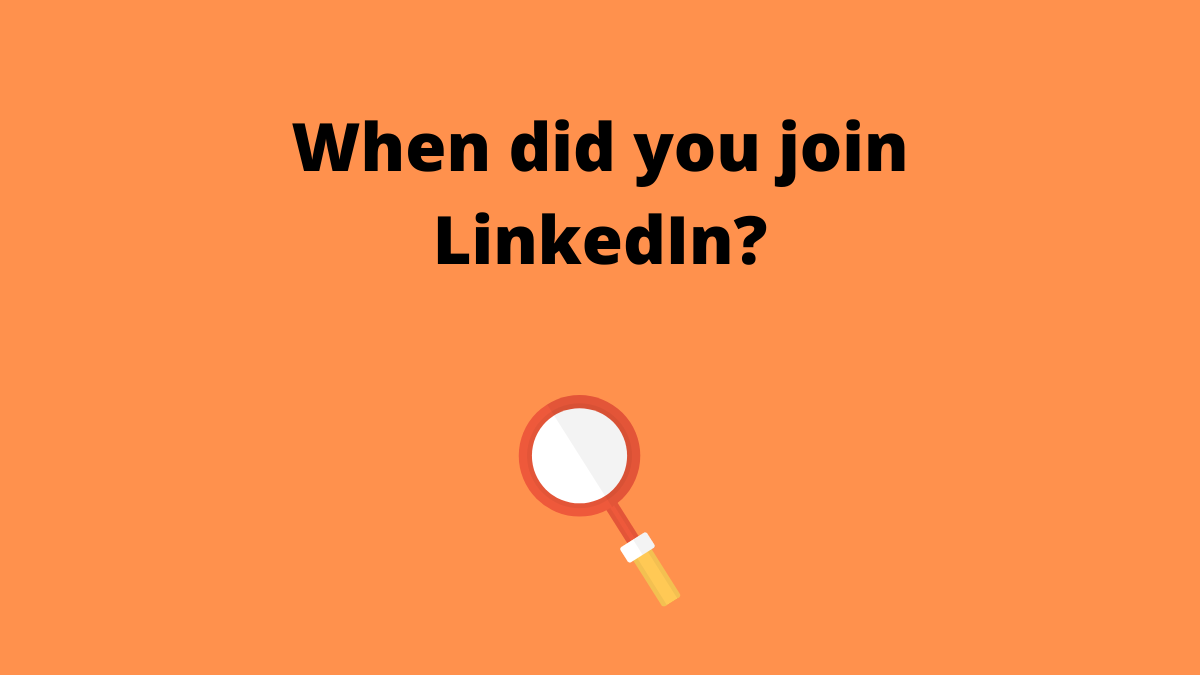 When did you join LinkedIn new image